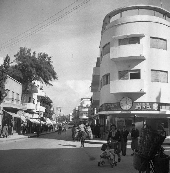 רחוב קינג ג'ורג' בשנת 1947