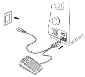 וודאו שהמכונה מחוברת לזרם החשמל ושכפתור ההפעלה במצב I