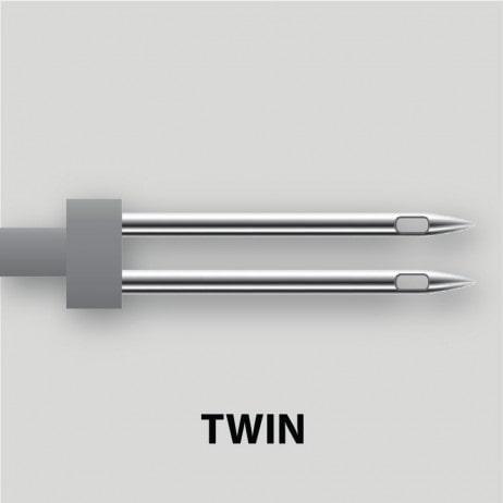 מחט כפולה TWIN